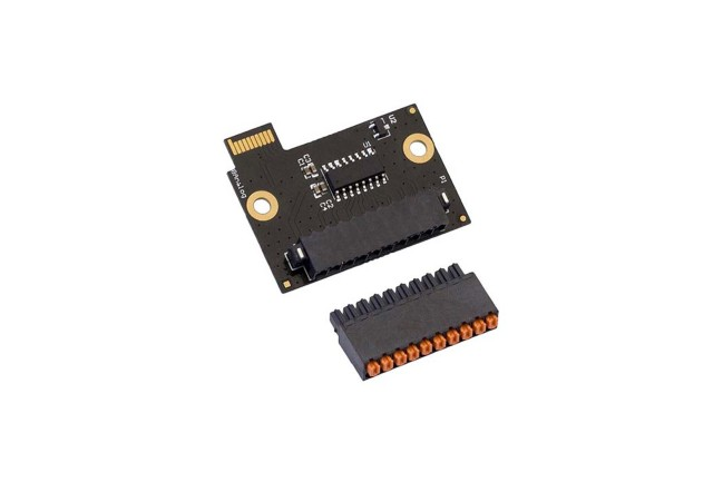 A product image for 8 ANALOGE MODULE MET HEADER