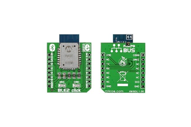 A product image for BLE2 click