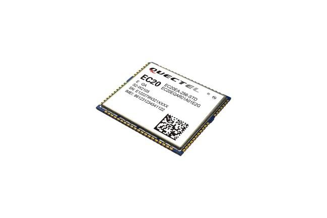 A product image for EC20 devkit, inclusief EC20-module