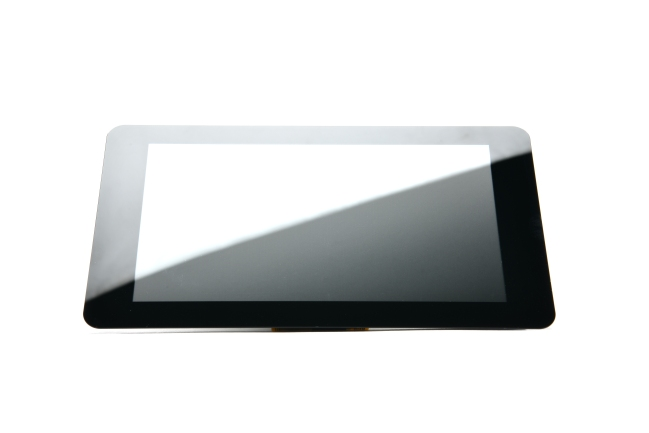 A product image for Raspberry Pi 7-inch lcd-touchscreen