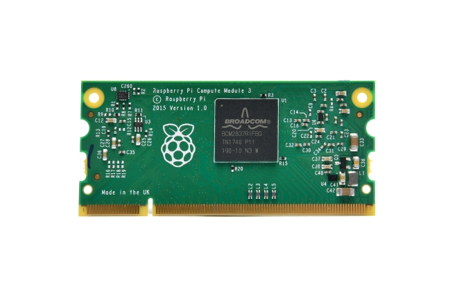 A product image for Raspberry Pi Compute Module 3