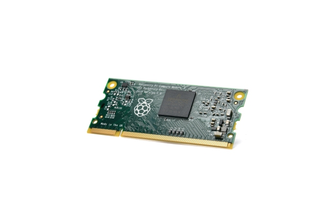 A product image for Raspberry Pi Compute Module 3 Lite