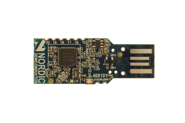A product image for nRF51 usb-dongle voor emulator, firmware