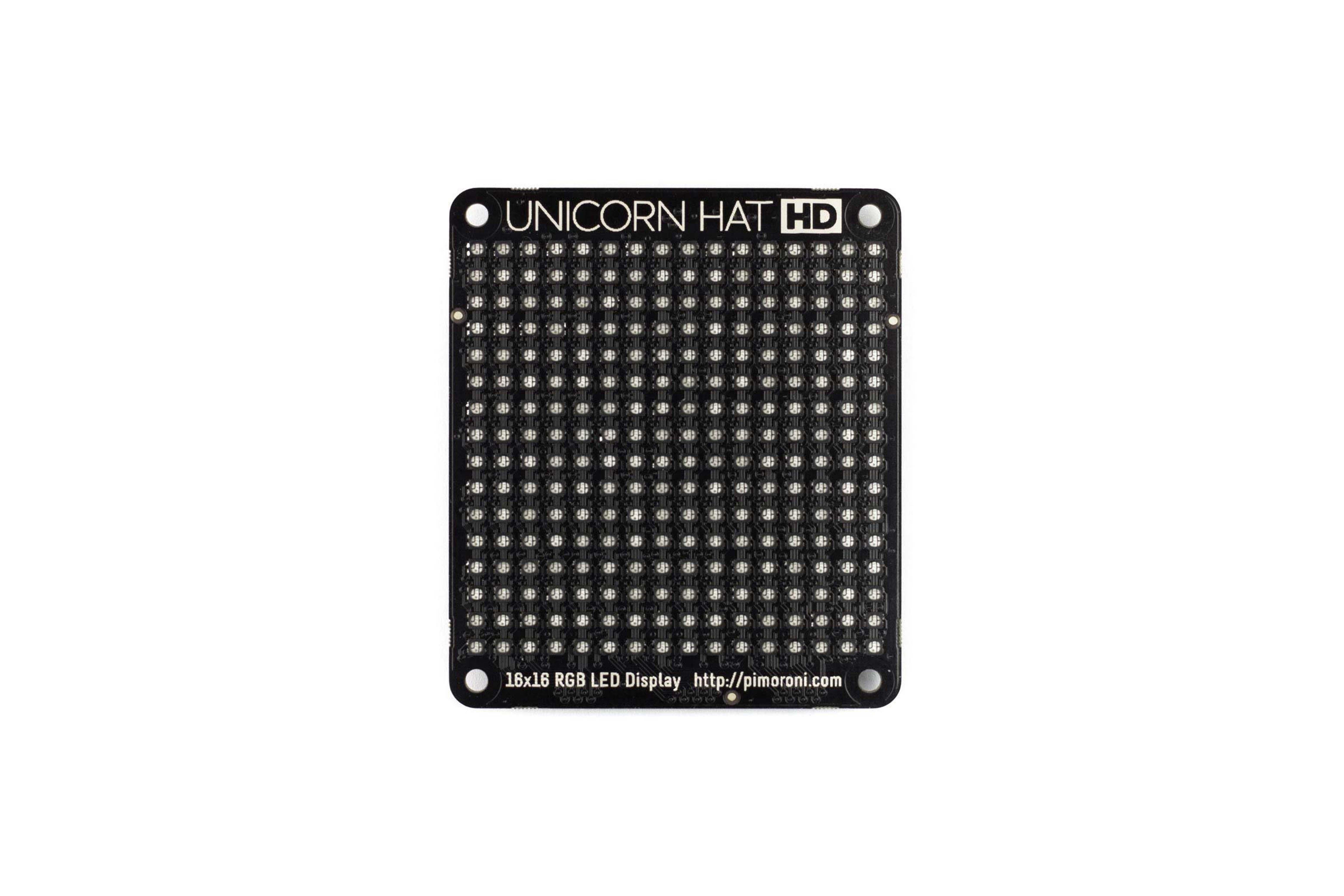 UNICORN HAT RGB LED-MATRIX VOOR PI