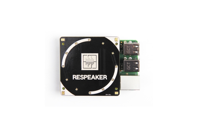 A product image for RESPEAKER 4-MIC ARRAY VOOR RASPBERRY PI