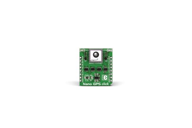 A product image for MikroElektronika Nano mikroBus Click Board voor Nano Hornet