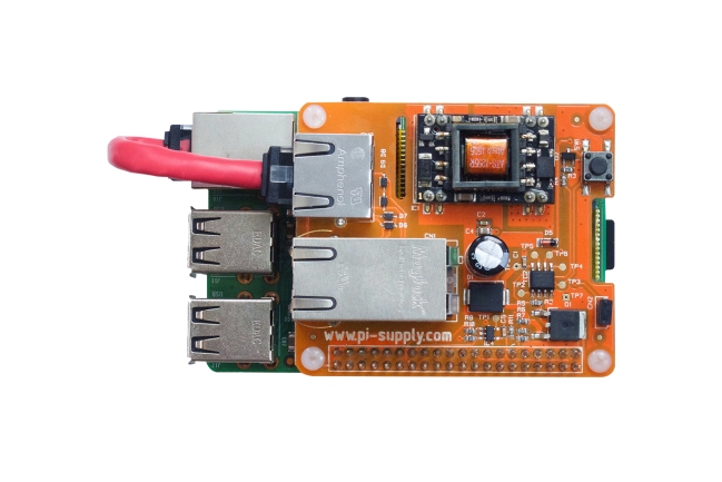 A product image for Power Over Ethernet voor Raspberry Pi