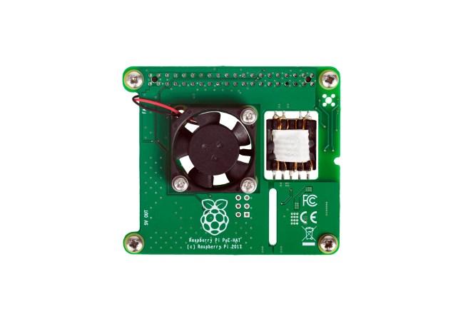 A product image for Raspberry Pi POE-kaart