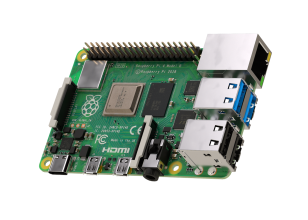 Raspberry Pi 4 Model B-plaat met 4GB LPDDR4 SDRAM
