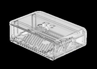 OKdo transparante 2-delige schuifhoes