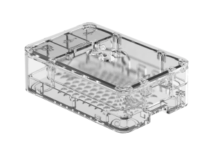 OKdo transparant 3-delige standaardhoes