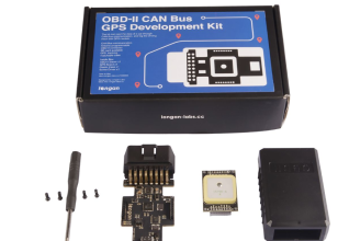 OBD-II CAN-bus GPS Development Kit