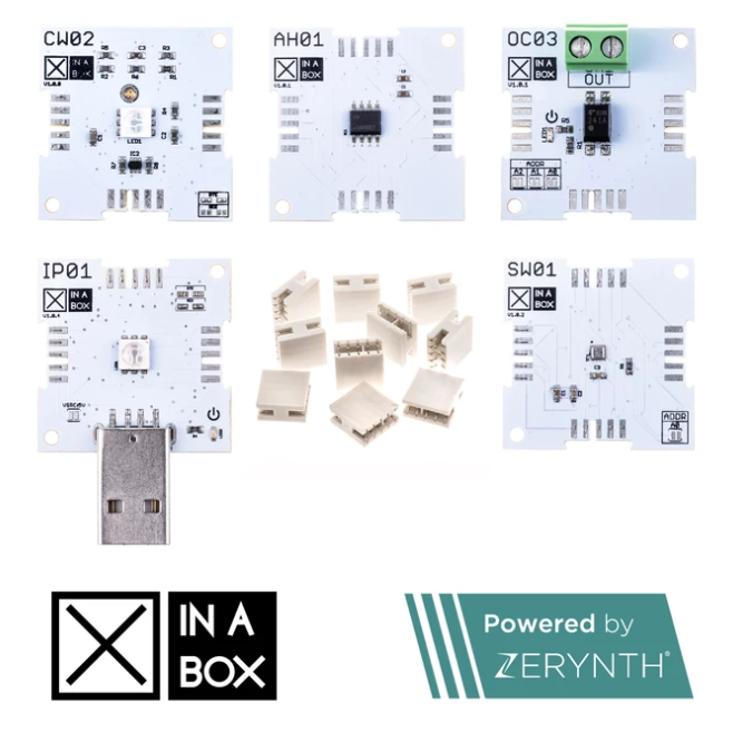 Xinabox IoT Starter Kit, Powered By Zerynth