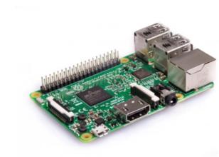 RaspberryPi 3 model B enkelkaartcomputer