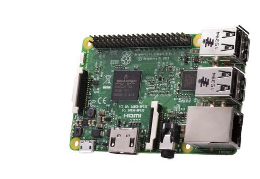 A product image for RaspberryPi 3 model B enkelkaartcomputer