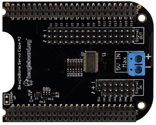 A product image for Beaglebone Servo Cape