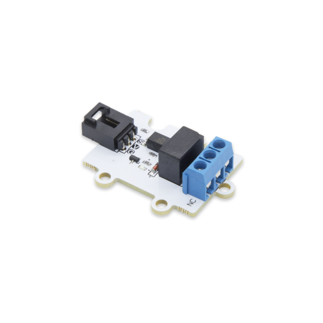 A product image for Pi Supply 1 kanaals relais 3V Relais Module voor micro: bit