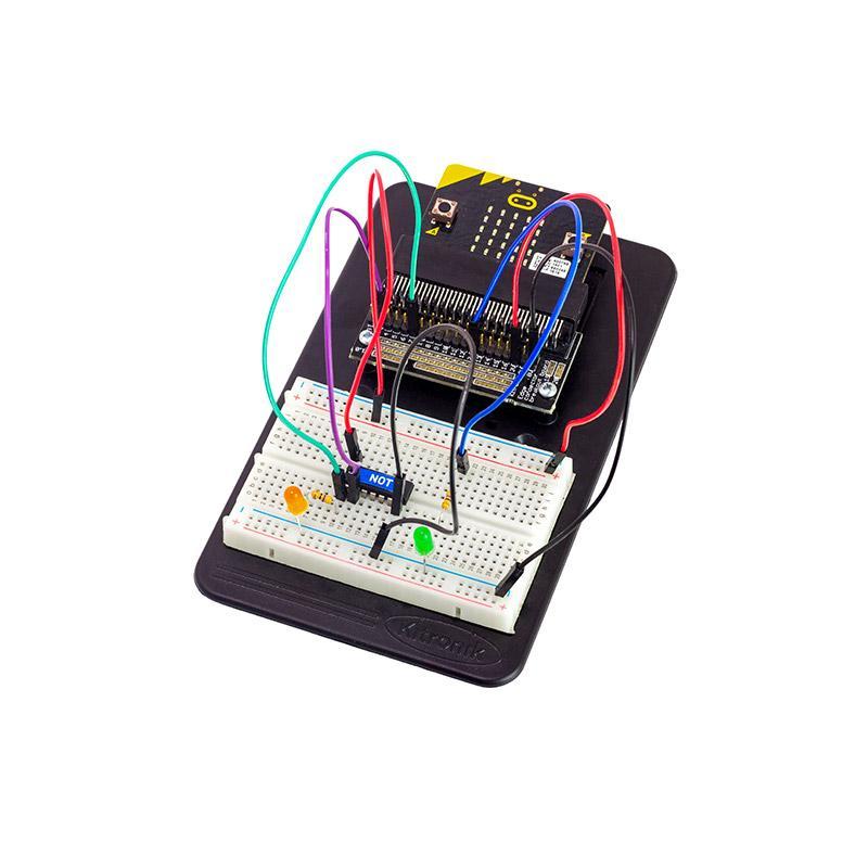 Digital Logic Pack for Kitronik Inventor's Kit for the BBC micro:bit