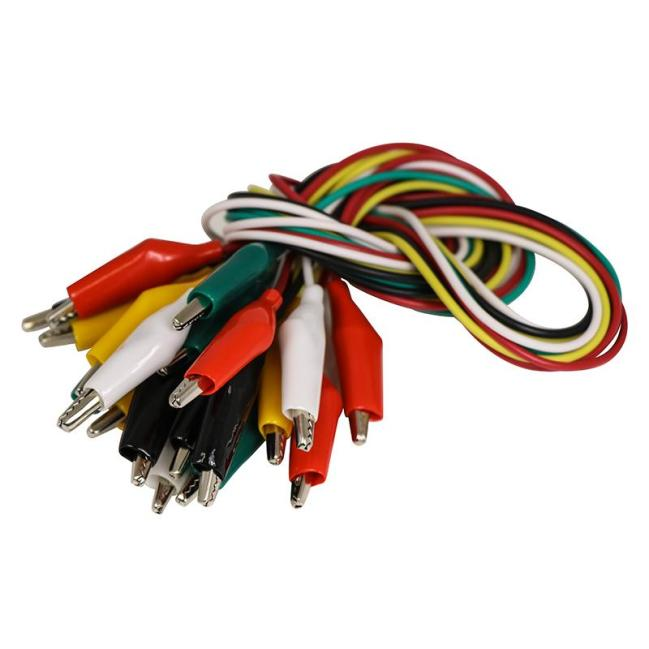 A product image for Crocodile Leads, pack of 10