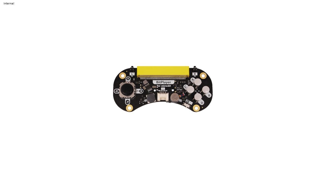 BitPlayer - micro:bit game controller