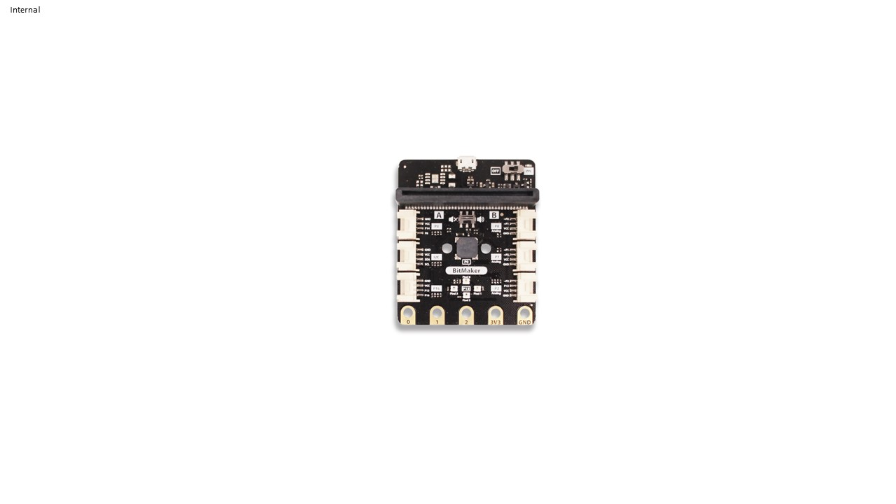 BitMaker - Grove expansion board for microbit (6 Grove ports)