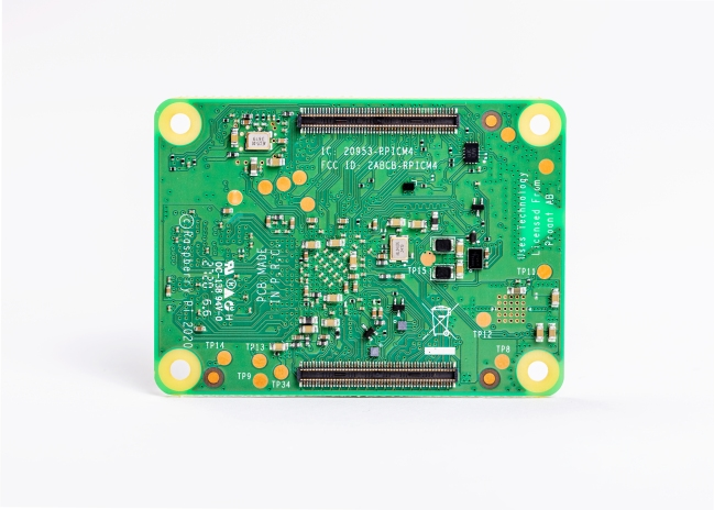 A product image for Raspberry Pi Compute Module 4 4GB RAM Lite