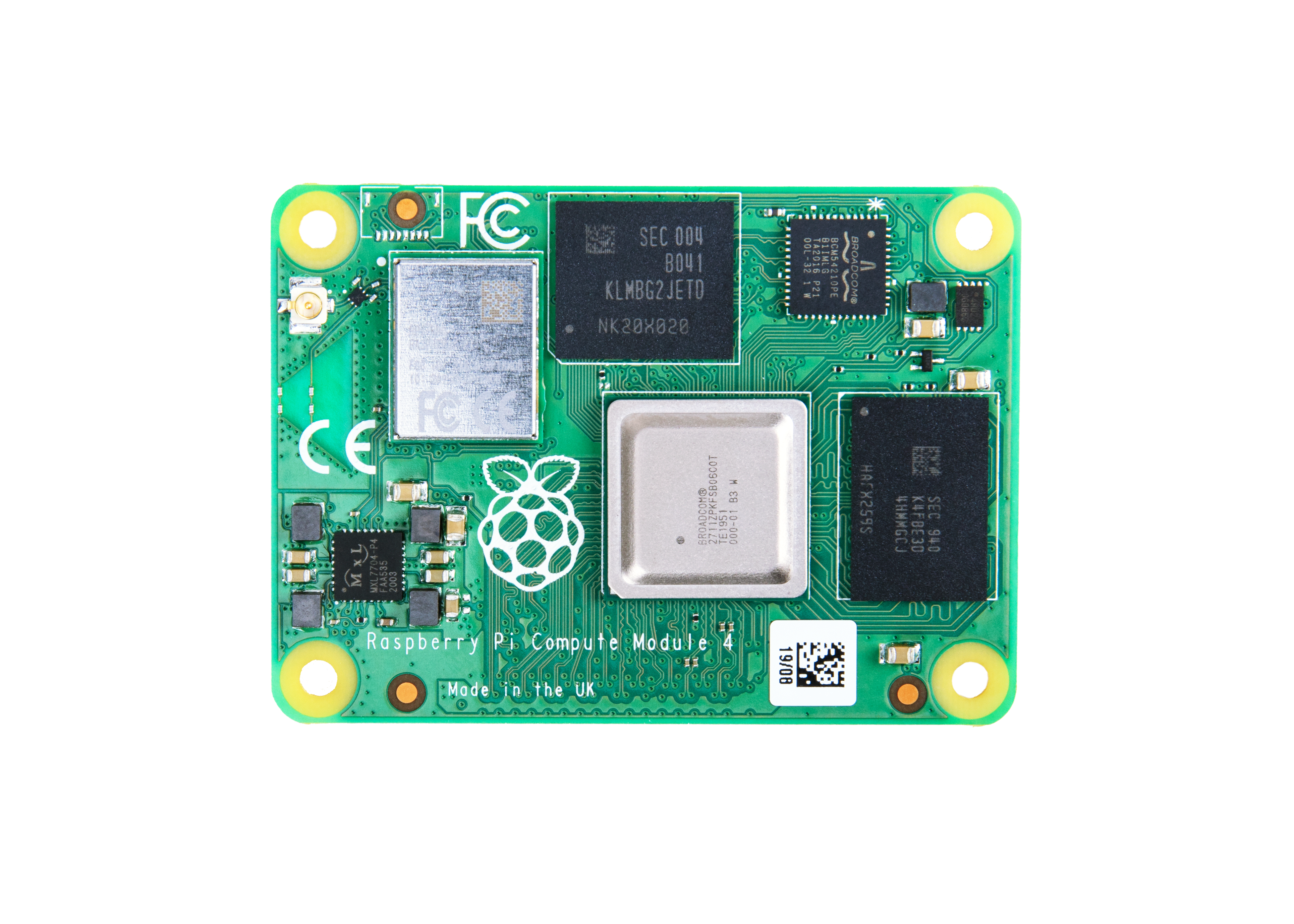 Raspberry Pi Compute Module 4 with WiFi 8GB RAM 16GB Flash