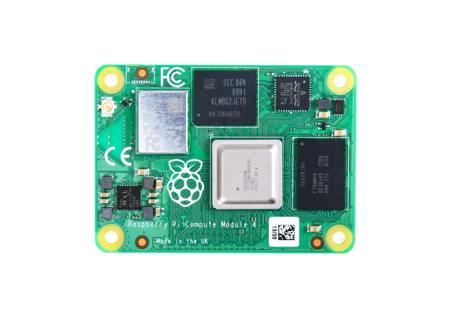 A product image for Raspberry Pi Compute Module 4 with WiFi 1GB RAM 16GB Flash