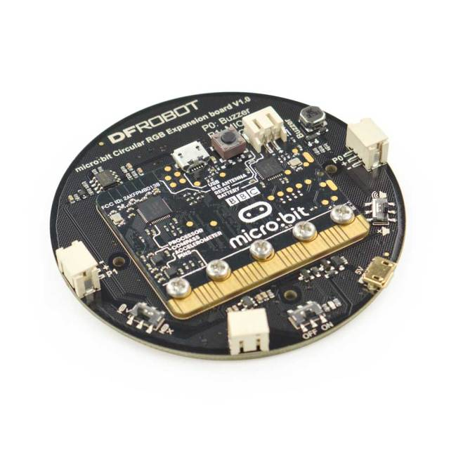 A product image for micro: Circular RGB LED Expansion Board