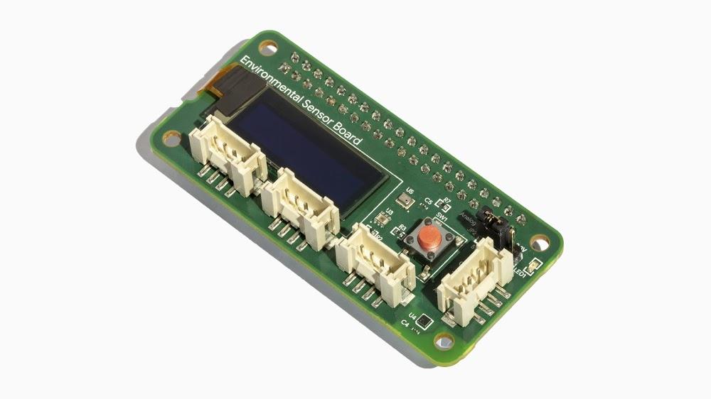 Coral Environmental Sensor Board