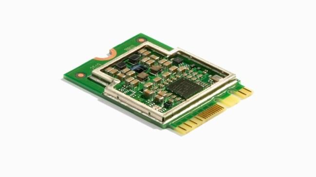 A product image for Coral Mini PCIe M.2 Accelerator A/E Key
