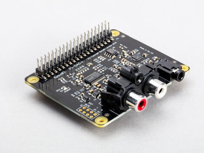 A product image for IQaudio DAC+