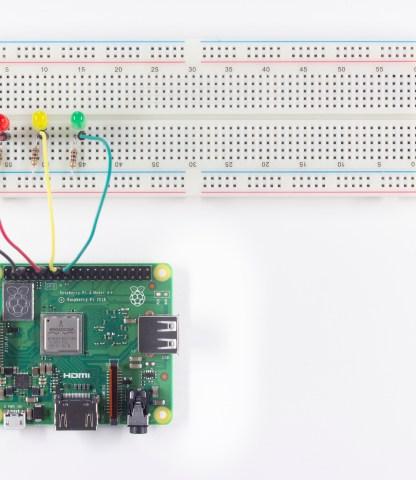 Controlling LEDs With Raspberry Pi GPIO