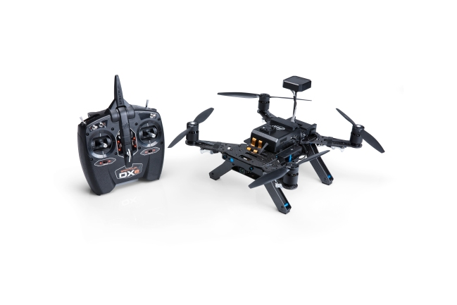 A product image for Intel 954400 Ready to Fly Drone Dev Kit