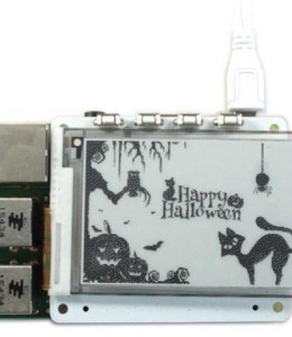 Create PaPiRus ePaper Halloween Animations On Raspberry Pi