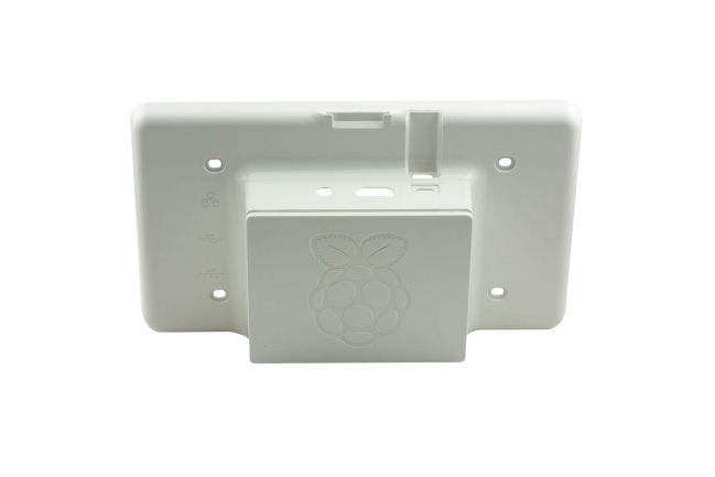 A product image for Official Raspberry Pi  7″ Touchscreen Case – White