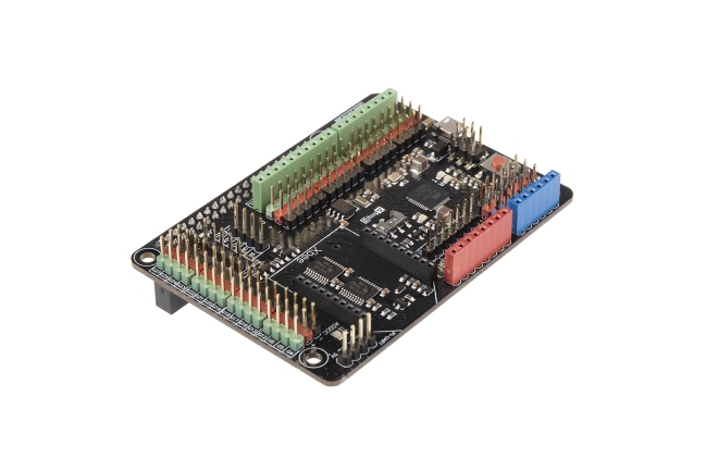 A product image for Gravity: Arduino Shield for Raspberry Pi B+/2B/3B/3B+