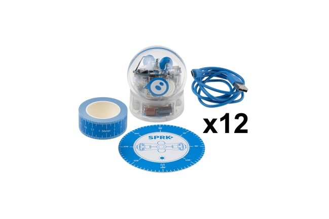 A product image for SPHERO SPRK+ EDUCATION 12-PACK
