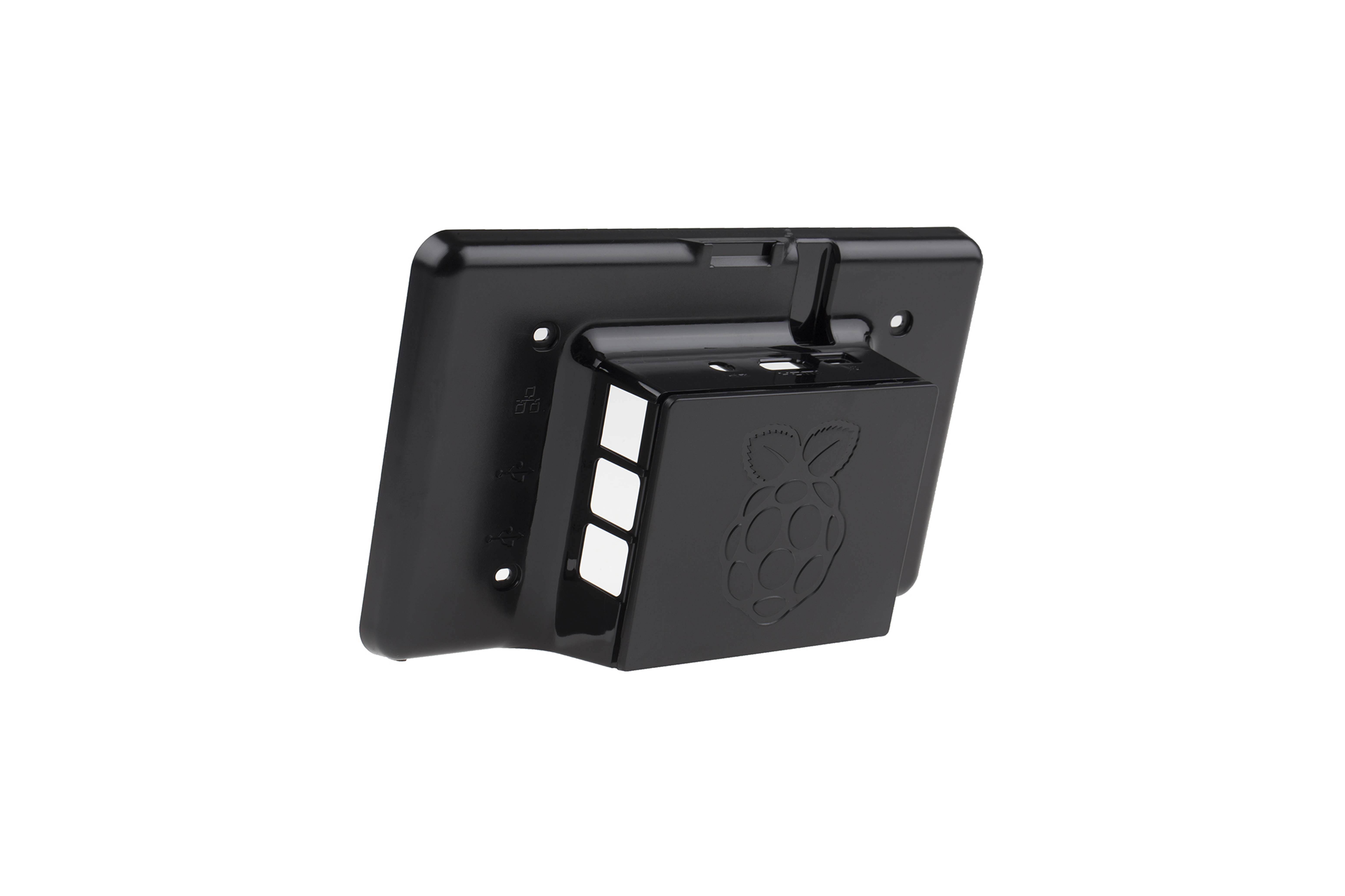 "Case For Raspberry Pi Official 7"" Touchscreen - Black"