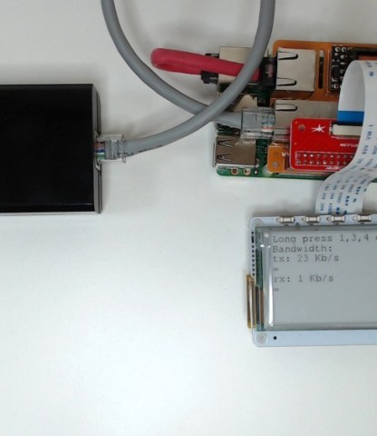Create A Raspberry Pi Access Point With PaPiRus And Pi PoE