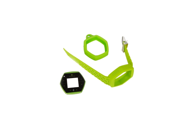 A product image for Hexiwear IoT Dev Kit Accessory Pack – Green