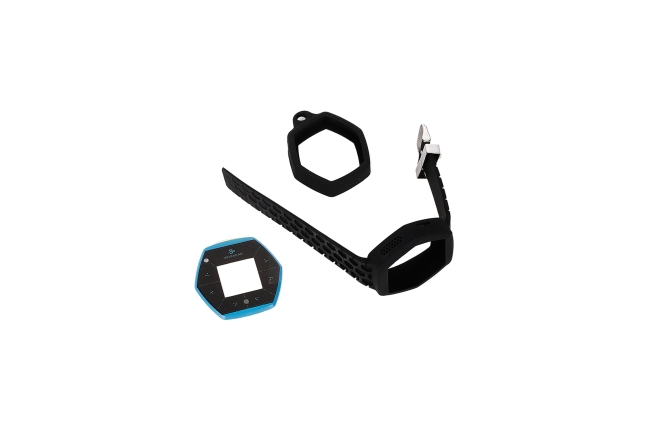 A product image for Hexiwear IoT Dev Kit Accessory Pack – Black