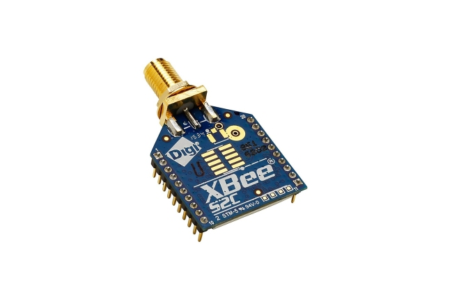 A product image for XBee Zigbee TH RF Module RPSMA Antenna