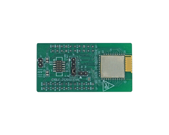 A product image for CYBLE-212019 BLE PRoC Evaluation Board