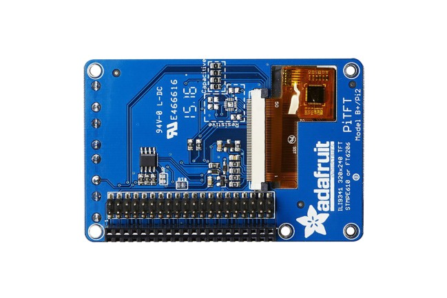 A product image for Adafruit PITFT PLUS 2.8IN CAPACITIVE TOUCHSCREEN