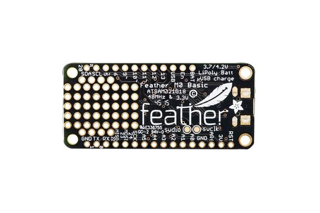 A product image for Adafruit Feather M0 Basic Proto ATSAMD21 Cortex M0 – 2772