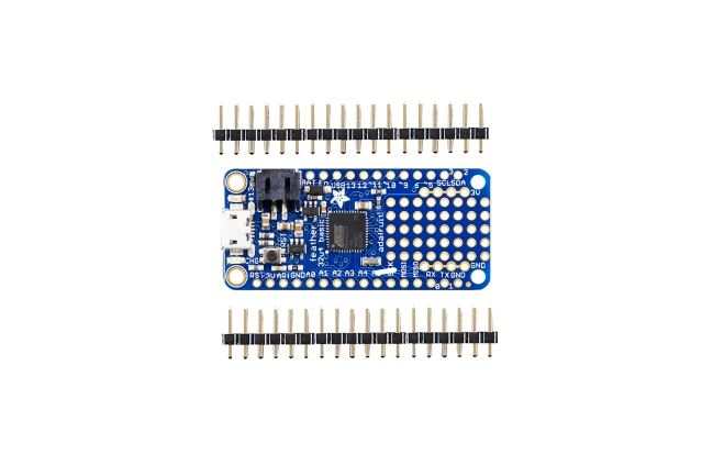 A product image for Adafruit Feather 32u4 Basic Proto