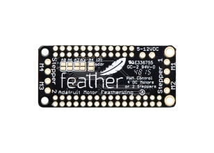 Adafruit DC MOTOR + STEPPER FEATHERWING ADD-ON FOR ALL FEATHER BOARDS