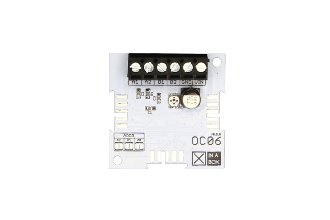 A product image for Xinabox Oc06 – Stepper Driver (Pca9685 & Drv8825)
