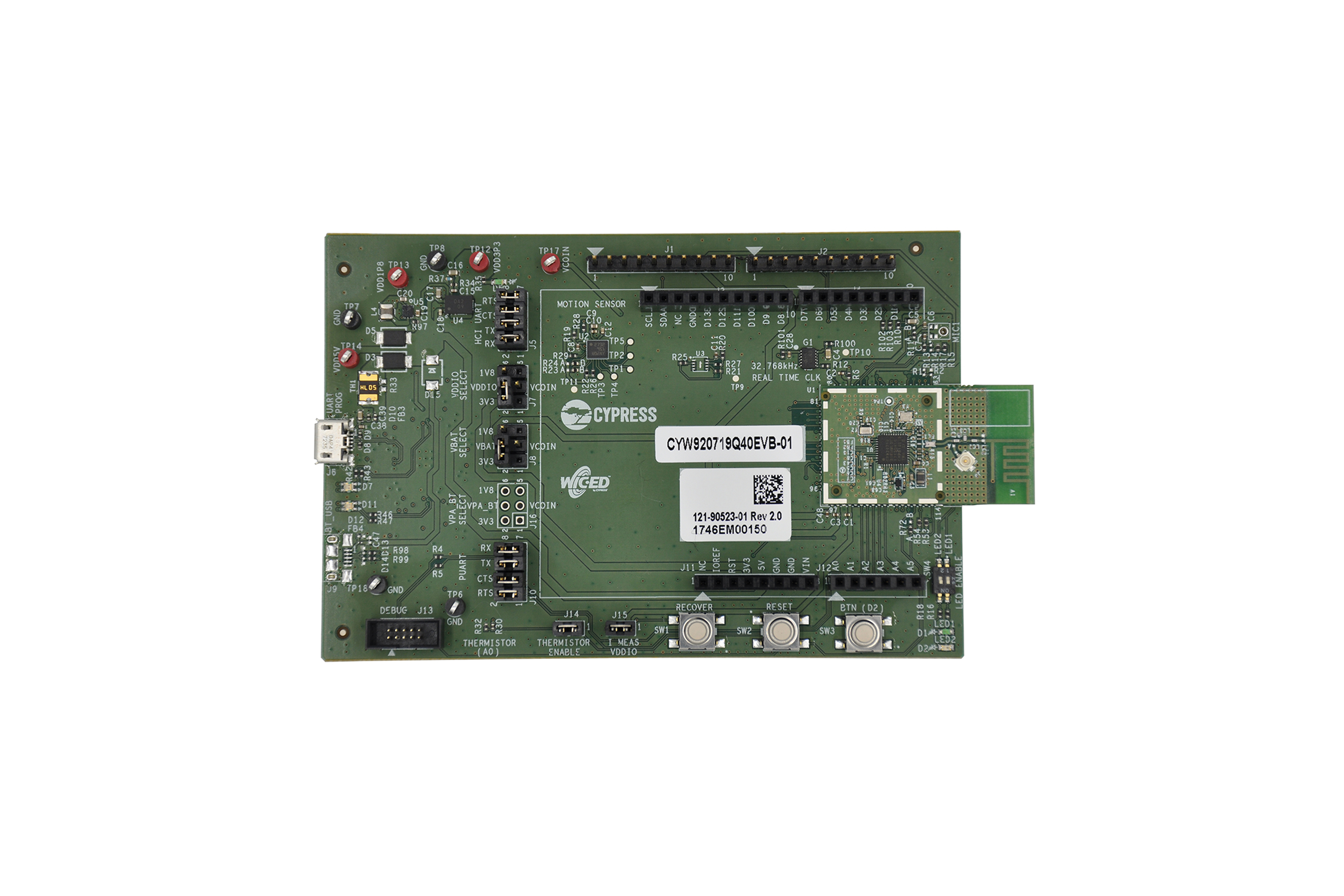 Cyw920719Q40Evb-01 Bluetooth Development